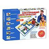 Электронный конструктор «Знаток», REW-K002, детские игрушки