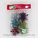 Елочные игрушки «Снежинки», 01205, купить
