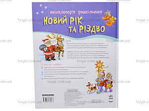 Энциклопедия для дошкольника «Новый год и Рождество», С15240У, купить