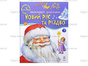 Энциклопедия для дошкольника «Новый год и Рождество», С15240У, цена