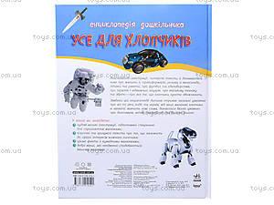 Детская энциклопедия «Все для мальчиков», К15184У, купить