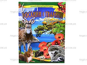 Энциклопедия для детей «Растения и животные Украины», Талант