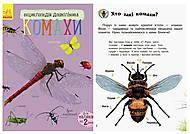 Книга «Энциклопедия дошкольника. Насекомые», С614014У, фото