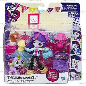 Мини-кукла Equestria Girls с аксессуарами, B4909