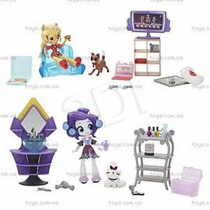 Мини игровой набор мини-кукол Equestria Girls, B4910, фото