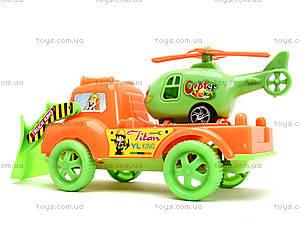 Игрушечные эвакуатор и вертолет в наборе, 525-F1, купить