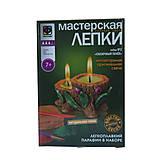 Глиняная свеча «Сказочный пенек», набор для лепки, 217022