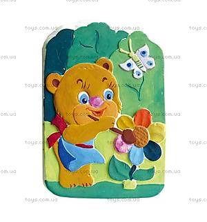 Набор для творчества «Мишка с цветком и бабочкой», 707002, купить