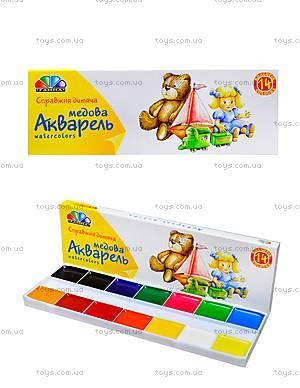 Акварельные краски «Любимые игрушки», 14 цветов, 311038