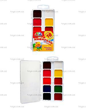 Акварельная краска Гамма «Увлечение», 10 цветов, 312044