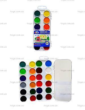 Акварельная краска Гамма «Увлечение», 24 цвета, 312060