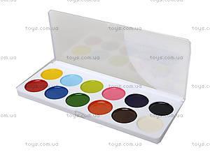 Краска акварельная медовая «Классика», 12 цветов, Ц492007У, купить