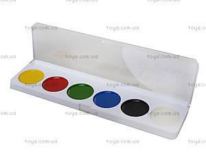 Акварельные краски серии «Гавчик и Мурчик», 6 цветов, Ц348016У, фото