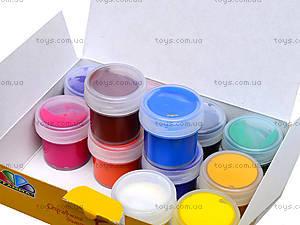 Краска гуашь Гамма 12 цветов, серия «Любимые игрушки», 221033, фото