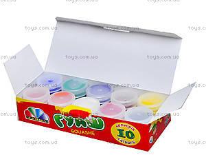 Краска гуашь «Увлечение», 10 цветов, 321036, купить
