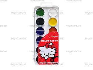 Краски акварельные Hello Kitty, 12 цветов, HK13-061K, купить