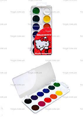 Краски акварельные Hello Kitty, 12 цветов, HK13-061K