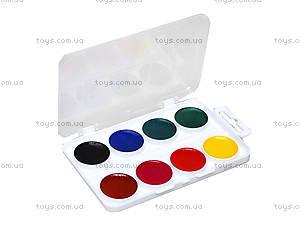 Краски акварельные Hot Wheels, 8 цветов, HW14-060K, купить