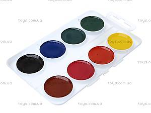Акварельные краски Max Steel, 8 цветов, MX14-060K, фото