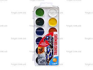 Набор акварельных красок Transformers, 12 цветов, TF15-061K, купить