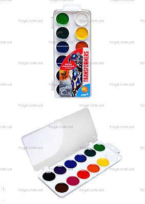 Набор акварельных красок Transformers, 12 цветов, TF15-061K