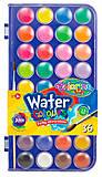 Краски акварельные с кисточкой 36 цветов Colorino, 67324PTR, toys.com.ua