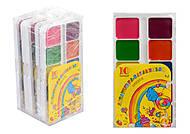 """Краски акварельные медовые 10 цветов """"Акварелька-карамелька"""" (5 наборов в упаковке), ТЕ300, отзывы"""