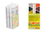 """Краски акварельные медовые, 14 цветов """"Акварель и я"""" (5 наборов в упаковке), ТЕ304, игрушки"""