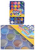 Краски акварельные Colorino, большие таблетки, 28 цветов, 67317PTR