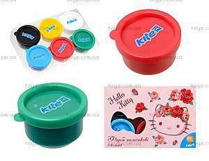Краски пальчиковые Hello Kitty, 6 цветов, HK15-064K