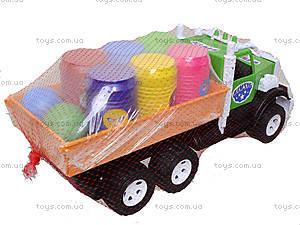 Игрушечный грузовик с бочонками «Фарго», 3685, купить