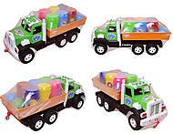 Игрушечный грузовик с бочонками «Фарго», 3685, фото