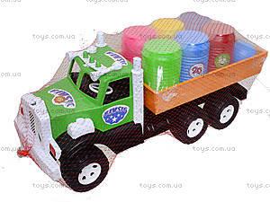 Игрушечный грузовик с бочонками «Фарго», 3685, отзывы