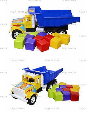 Детская машина «Фарго» с 12 кубиками, 07-601-5