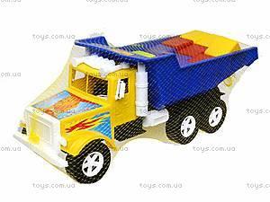 Детская машина «Фарго» с 12 кубиками, 07-601-5, отзывы