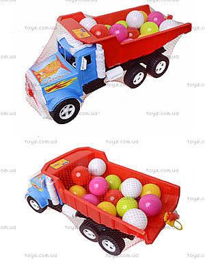 Детская машина «Фарго» с 15 шариками, 07-601-4