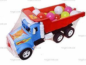 Детская машина «Фарго» с 15 шариками, 07-601-4, фото