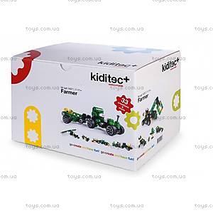 Детский конструктор Kiditec Farmer M, 1407