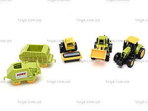 Набор фермерского транспорта «Миниавто», 6387-2, отзывы