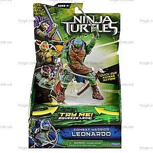 Фигурка Черепашки-ниндзя Movie Deluxe «Леонардо», 91541