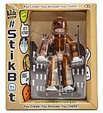 Фигурка для анимационного творчества STIKBOT S1, коричневый, TST616Br, отзывы