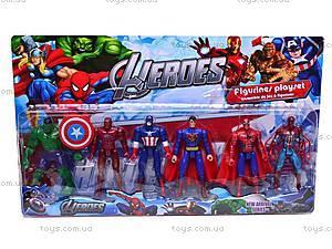 Фигурки героев «Marvel», 81098-6, детские игрушки