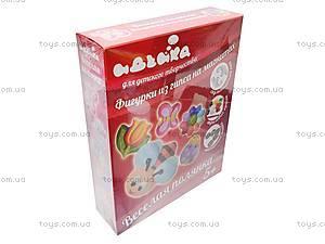 Магнитные фигурки из гипса «Веселая поляна», 94111, іграшки