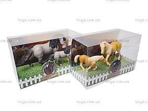Фигурки лошадей, 9512A-C