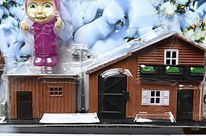 Фигурки «Маша и Медведь» с домиком, R182А-3С, купить