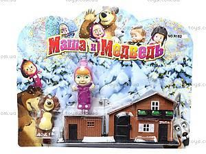 Фигурки «Маша и Медведь» с домиком, R182А-3С