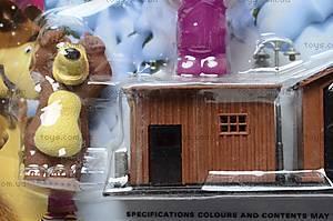 Фигурки «Маша и Медведь» с домиком, R182А-3С, фото