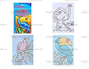 Водные раскраски и обычные «Птицы», Р489002РУ