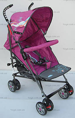 Фиолетовая коляска-трость, DS-02