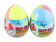"Лизун-антистресс ""Fluffy Dino Egg"", 140 мл ассорти, 80091, купить"